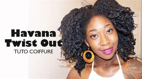 havana twist out crochet braids crochet braids havana twist out i tuto coiffure youtube