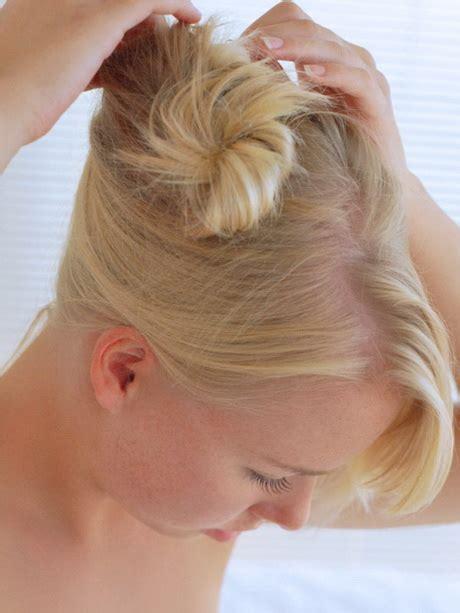 kurze haare hochstecken