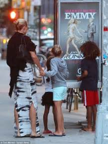 Play Our Project Runway Faceoff by Heidi Klum S Children Overjoyed When They Spot Project