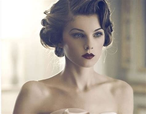 Vintage Hair Updo by 4 Glamorous Vintage Wedding Hairstyles Pretty Designs