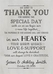 top 25 best wedding thank you wording ideas on thank you card wording thank you