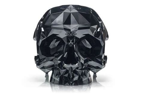 skull armchair skull armchair faceted handcrafted with black velvet seat