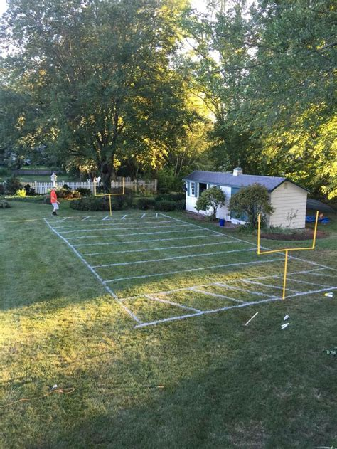 how to make a football field in your backyard 25 best ideas about football field on pinterest