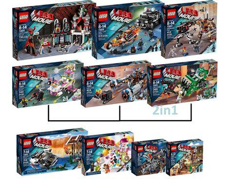 Paket 2 In1 lego set 70809 70808 70807 70804 70806 70805 70802