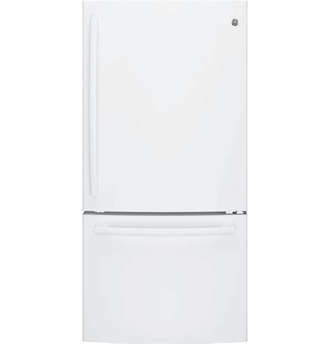 Single Drawer Refrigerator by Ge Appliances Gde25egkww 24 9 Cu Ft Single Door Bottom