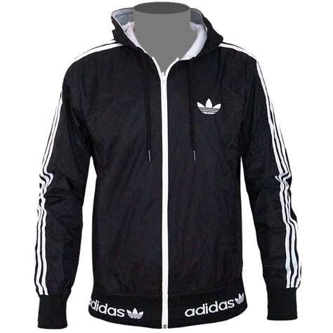 adidas originals reversible mens windbreaker hoodie