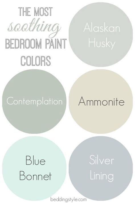 most calming colors 25 best ideas about bedroom colors on pinterest