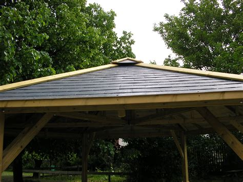 Gazebo Roof by Gazebo Roof Options Outdoor Dining Rooms Bbq Shelters