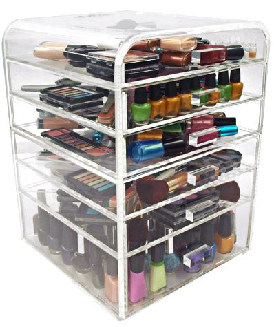 Makeup Drawers by Clear Acrylic Makeup Organizer W Drawers Ediva