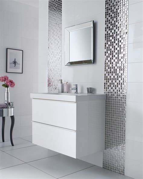 bathroom mosaic tile ideas 29 ideas to use all 4 bahtroom border tile types digsdigs