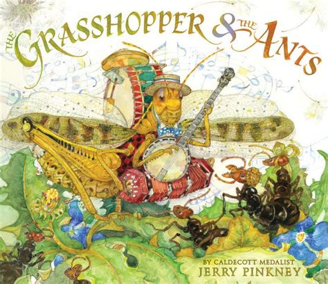 the ant and the grasshopper picture book the grasshopper the ants by jerry pinkney hardcover