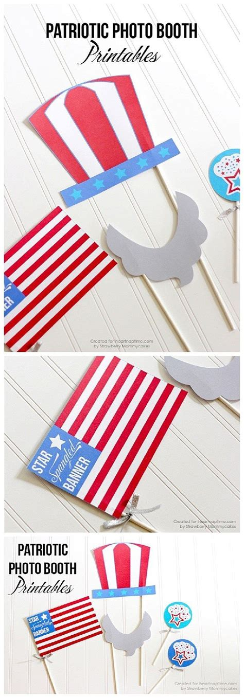 printable patriotic photo booth props do it yourself 4th of july the best diy patriotic holiday
