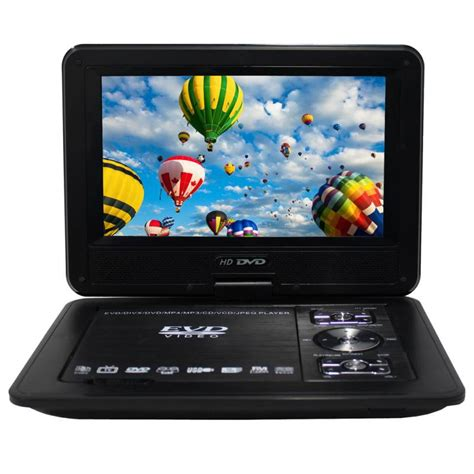 portable dvd player video format portable multi format led dvd player w 9in monitor buy