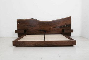 slab wood headboard the st pierre bed headboard is crafted from a one of a