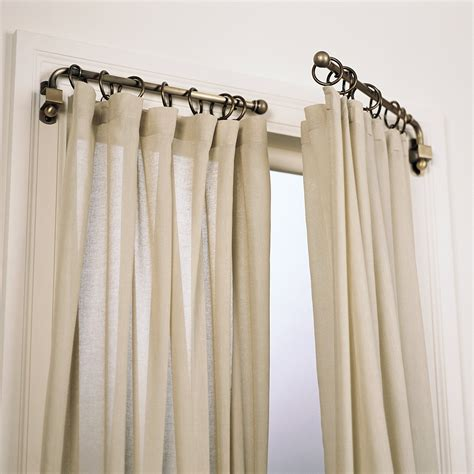 curtain swing arm rods decorating for swing arm curtain rod interior exterior homie