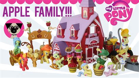 apple family my little pony apple family www imgkid com the image
