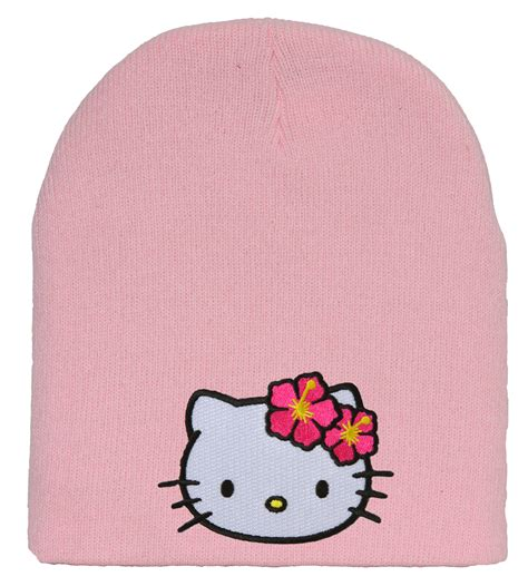 17 quot pink hello kitty christmas santa hat with white faux