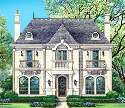 chateau voila house plan 2 story 4 bedroom 4