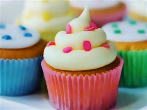 girly cupcake wallpaper rainbow cupcakes other abstract background wallpapers