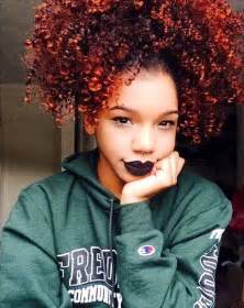 does the swag haircut work for hair afro high ponytail kinky curly hair hairstyle pretty girl
