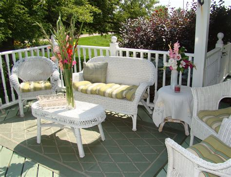 white outdoor wicker furniture doing the white thing 12 ways terrys fabrics s