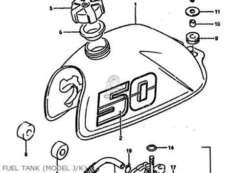 Suzuki Lt50 Service Manual Suzuki Lt50 1988 J Parts List Partsmanual Partsfiche