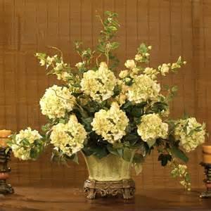 Dining Table Flowers Faux Flowers Plants Bellacor
