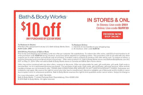 bath and body works 20 percent printable coupon