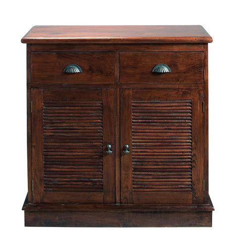 Colonial L by Buffet En Teck Massif L 90 Cm Colonial Maisons Du Monde