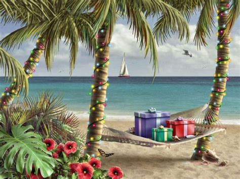 tropical christmas christmas pinterest