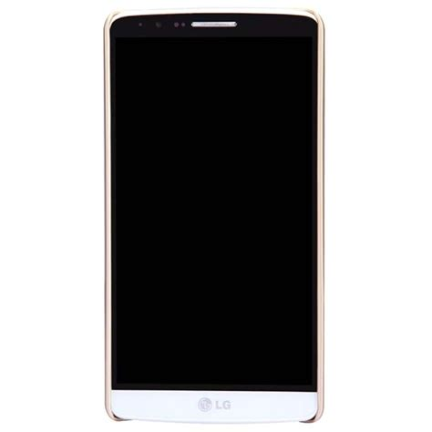 lg g3 nillkin frosted shield cover gold