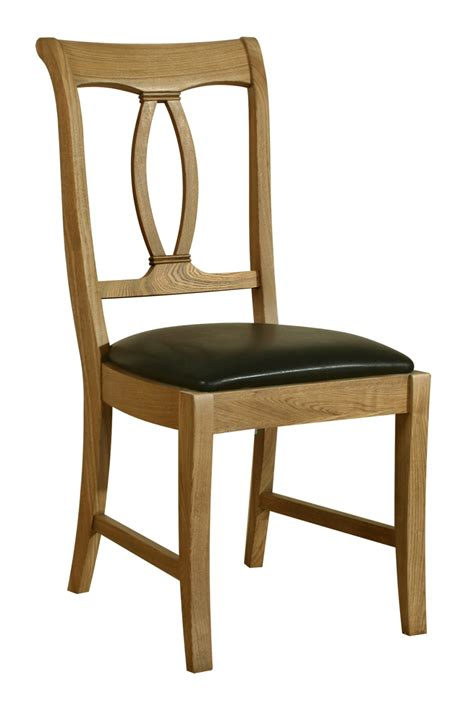 solid oak dining room chairs linden solid oak dining room furniture set of two dining chairs ebay