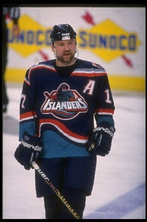 quebec nordiques tattoo wendel clark sporting the islanders quot gorton s fisherman