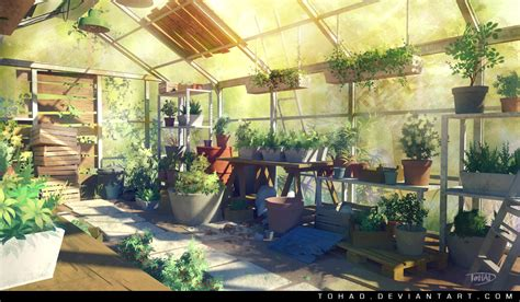 wallpaper of green house greenhouse by tohad on deviantart