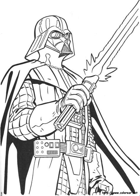 imagenes blanco y negro star wars dibujos para colorear de star wars