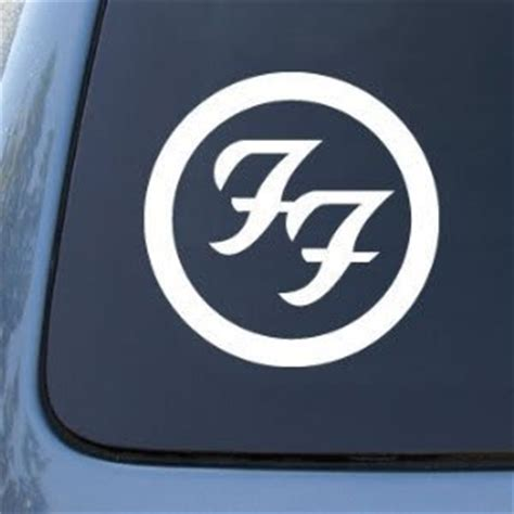 Cutting Sticker Band Foo Fighter Motor Laptop Mobil foo fighters band decal sticker custom sticker shop