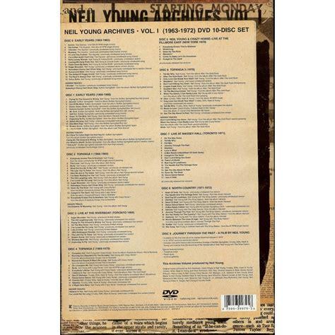 ultimania archive volume 1 fermer neil neil archives vol 1 1963 1972 dvd