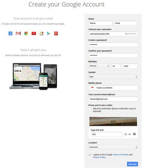 cara membuat email perusahaan di gmail cara mudah membuat email di gmail com tutorial pendaftaran