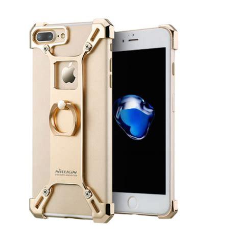 Pelindung Iphone 7 Plus Bahan Metalic Aluminium jual nillkin barde metal iphone 7 plus gold indonesia original harga murah