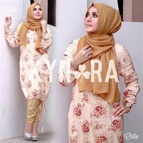 Gamis Syar I Meisya Brown orlin brown baju muslim gamis modern