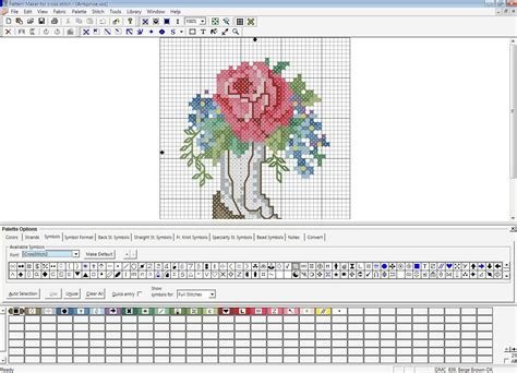 Free Online Home Color Design Software by Pattern Maker For Cross Stitch Software Informer Screenshots