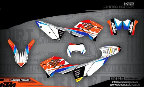 Aufkleber Ktm Sx 65 by Ktm Dekor Sx 65 2009 2015 K12 Le White Mx Kingz