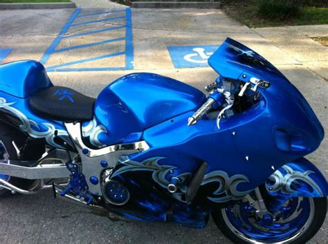 Suzuki Career Custom Blue Hayabusa Www Pixshark Images Galleries
