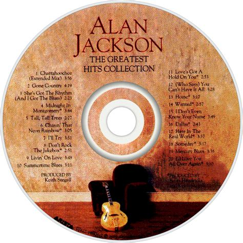 Cd Alan Jackson The Greatest Hits Collection alan jackson fanart fanart tv