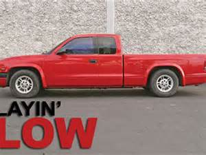 Lowered Dodge Dakota 2000 Dodge Dakota Djm Suspension Drop Truckin Magazine