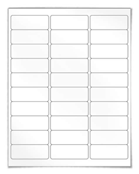 white mailing labels template address labels our wl 875 same size as avery 174 5160 8160
