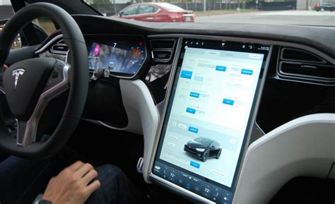 Tesla Interior Screen by 2017 Tesla Model X Review Release Date And Price 2017