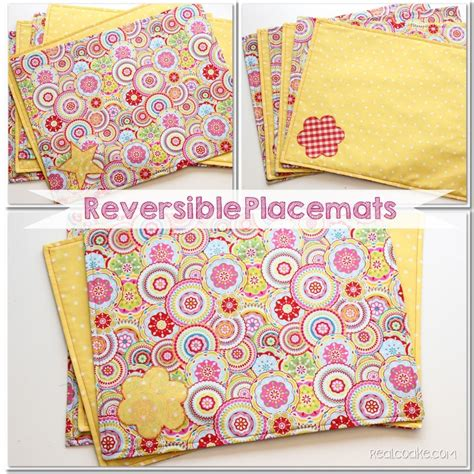 How To Make Quilted Placemats by Free Tutorial How To Make Reversible Placemats By Kc Coake