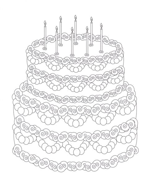 blank cake coloring page coloring pages free coloring pages of t cake blank