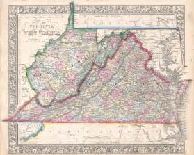Map Of Virginia And Maryland by File 1864 Mitchell Map Of Virginia West Virginia And
